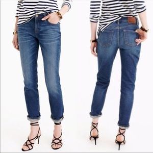 J Crew Slim Broken in Boyfriend Jeans sz 29